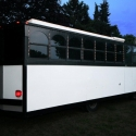 2012 Limo Trolley White 22 Passenger
