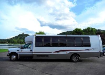 1999 Krystal Limo Bus Drivers Side