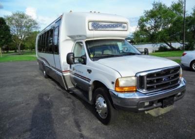 1999 Krystal Limo Bus Front Passenger Side
