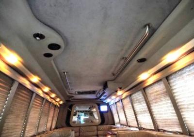 1999 Krystal Limo Bus Ceiling