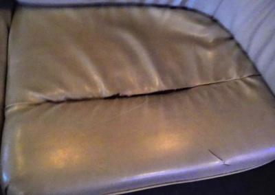 1999 Krystal Limo Bus Seat Tear