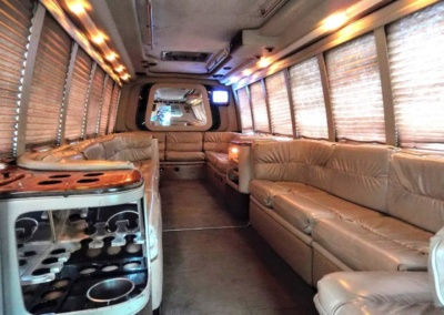1999 Krystal Limo Bus Interior