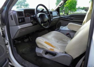 1999 Krystal Limo Bus Drivers Seat