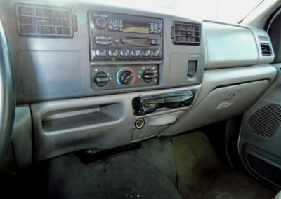 1999 Krystal Limo Bus Interior Dash