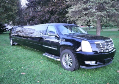 2008 Cadillac Escalade SUV Limo Passenger Front View