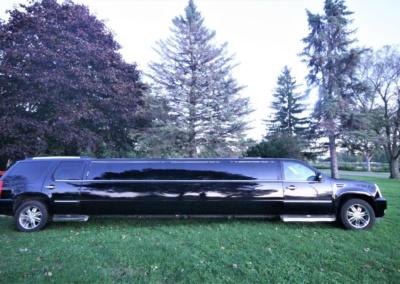 2008 Cadillac Escalade SUV Limo Passenger Side View