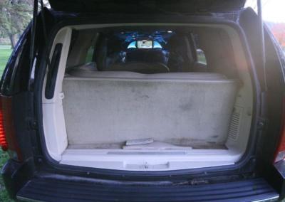 2008 Cadillac Escalade SUV Limo Trunk
