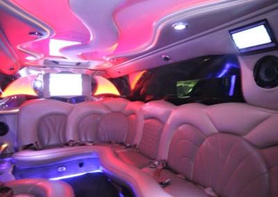 2008 Cadillac Escalade SUV Limo Interior